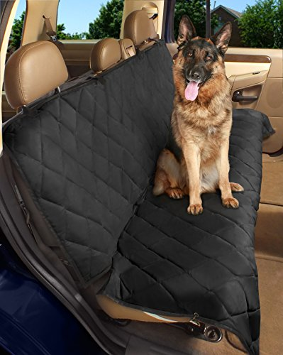 Epica – Deluxe Pet Bench Car Seat Cover, Quilted, Water Resistant, and Machine Washable ,Black Item# 82247-56″x47″