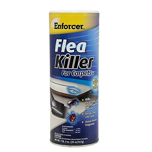 Enforcer Flea Killer for Carpets 20 ounce Pack of 2