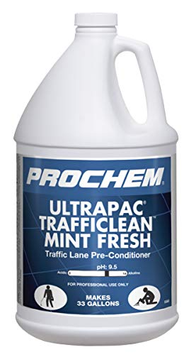 Ultrapac Trafficlean Mint Fresh Professional Traffic Lane Cleaner, 1 Gal.