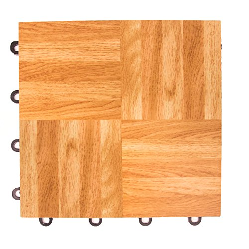 IncStores Oak 12″ x 12″ Practice Dance Tiles 1-12″x12″ Tile