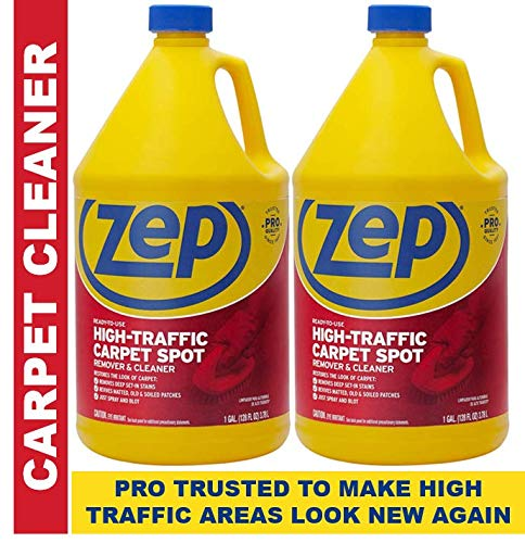 Zep High Traffic Carpet Cleaner ZUHTC 128 Ounce Pack of 2