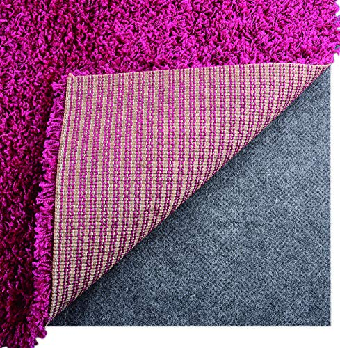 I FRMMY Newest Non Slip Area Gripper Rug Pad, Ultra Strong Anti-Slip Grip Pads, Thin Profile 0.06in Thick, Keep Your Rugs in Place 5 x 8 ft- Gray