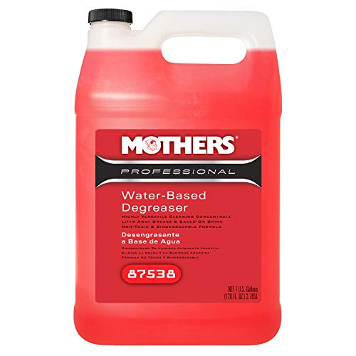Mothers 87538 Professional Water-Based Degreaser, 1 Gallon