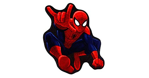 Spider-Man Red Accent Rug 30″x40″