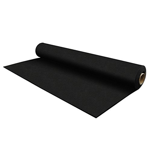 IncStores 8mm Strong Rubber Gym Flooring Rolls Non-Slip Equipment & Protective Mats 25 and 50 Foot Options Include Rubber Flooring Inc Rubber Floor Cleaner