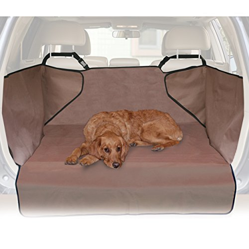 Protects Cargo Area of Your Car – K&H Pet Products Economy Cargo Cover Tan