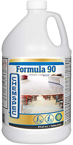 Chemspec Formula 90 Professional Carpet Cleaning Detergent for Commercial and Heavily Soiled Carpets4 pk