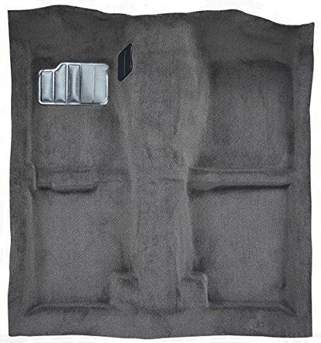ACC Replacement Carpet Kit for 1989 to 1994 Nissan 240SX, Passenger Area, with Seat Belt Retractors 801-Black Plush Cut Pile