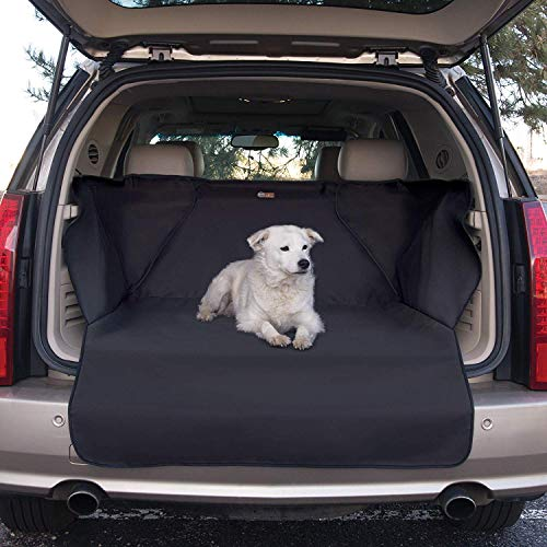 K&H Manufacturing Quilted Cargo Pet Cover, Black, Standard