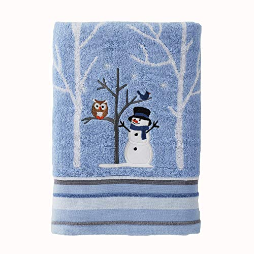 SKL HOME by Saturday Knight Ltd. Winter Friends Bath Towel, Blue