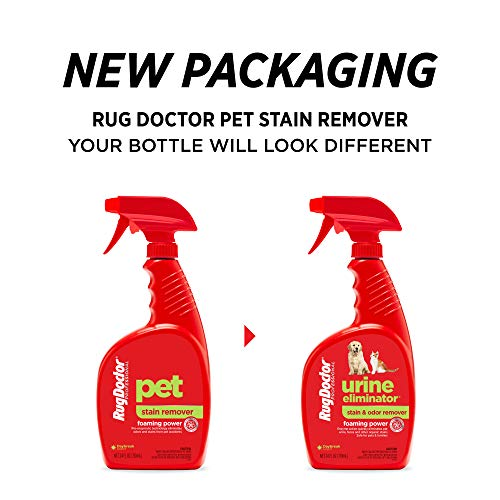 Rug Doctor Pet Stain Remover Spray, 24 oz, Red