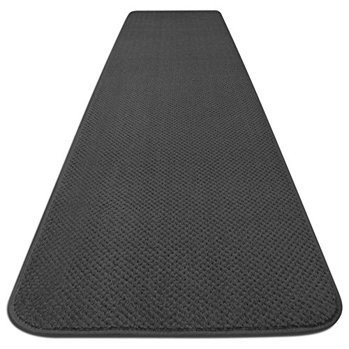 Gray – House, Home and More Skid-Resistant Carpet Runner – 6 Feet X 27 Inches