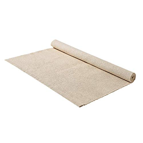 EOFEEL Montessori Materials Accessories Children Playing Mat Working Rug 20×33.6in,Creamy-White