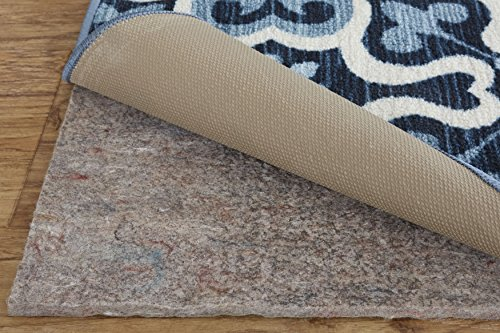 Mohawk Home Dual Surface Square Felt Non Slip Rug Pad, 8′ x 8′, 1/4 Inch Thick, Safe for All Floors