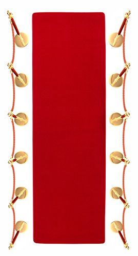 15′ Red Carpet Aisle Runner and Party Accessory by Trademark Innovations