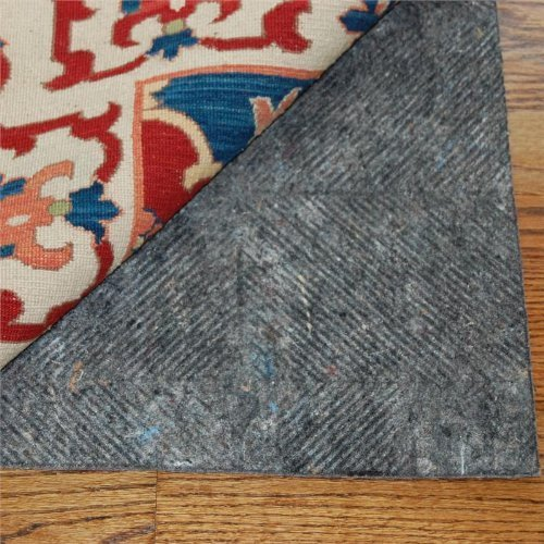 2'x8′ Durahold PlusTM Felt and Rubber Non Slip Runner Rug Pad for Hard Floors