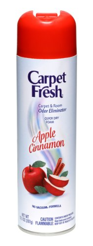 Carpet Fresh Quick-Dry Foam, Apple Cinnamon, 10 OZ