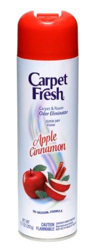 CarpetFreshQuick-Dry Foam, Apple Cinnamon, 10 OZ