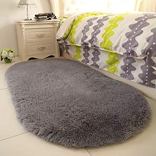 edited Soft Bedroom Rug,Home Doormat Floor Solid Soft Non-Slip Carpets,9 Color+60 x 40cm Size Area Rugs
