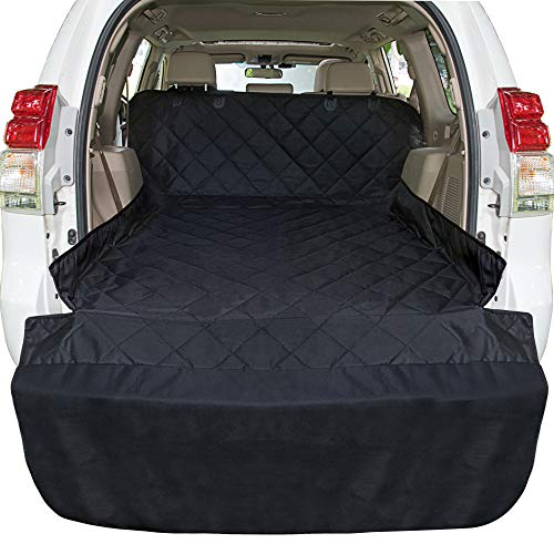 Ace Teah Pet Cargo Liner for SUV, Waterproof Dog SUV Cover with Bumper Flap Protector