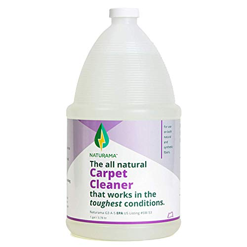 Cleaning Solution. – Stain Remover – Carpet Shampoo – Naturama, All Natural Carpet Cleaner, Eco-Friendly EPA Registered. Made in The U.S.