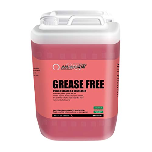 Nanoskin GREASE FREE Power Cleaner and Degreaser NA-GSF640, 5 Gallons