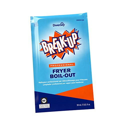 Diversey Break-Up Professional Fryer Boil-Out, 2 oz. Packet 36 Pack