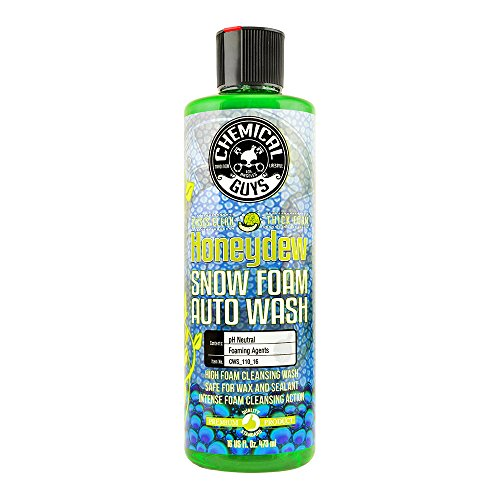 Chemical Guys CWS_110_16 Honeydew Snow Foam Car Wash Soap and Cleanser 16 oz