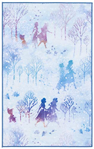 Believe Rug 2′ 3″ x 3′ 9″ – Safavieh Collection Inspired by Disney's Frozen II