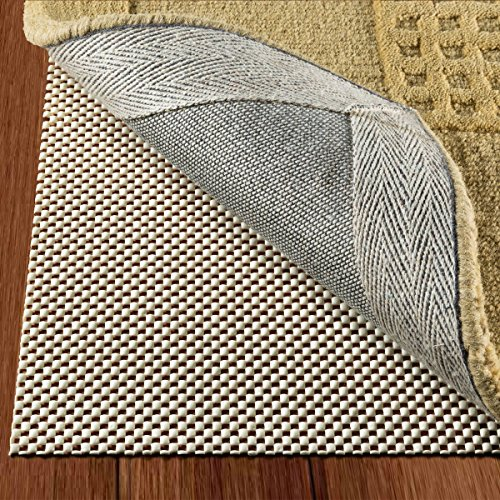 Non Slip Rug Pad Size 2 x10 For Runner Rugs On Hardwood Floors Extra Strong Grip Thick Padding And