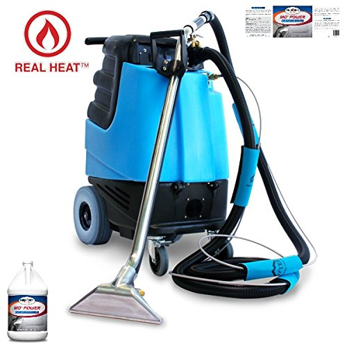 2002CS Contractor's Special Heated Carpet Extractor + Bulk Carpet Extractor Cleaner – 8 Quarts Included Makes 44 to 128 Gallons – Bundle 2 Items