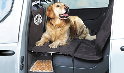 DogShell Truck Dog Pet Heavy-Duty Backseat Cover Extended Platform Bridge
