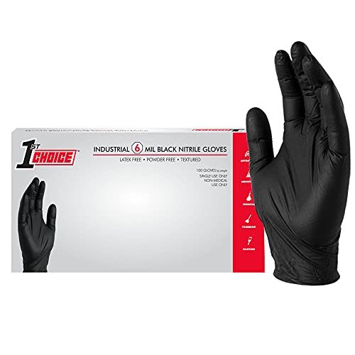 Top 9 6Mil Nitrile Gloves – Non-Sterile Disposable Safety Gloves