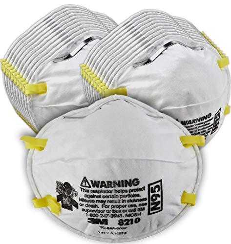 Top 9 N95 Mask 3M 8210 – Disposable Respirator Safety Masks